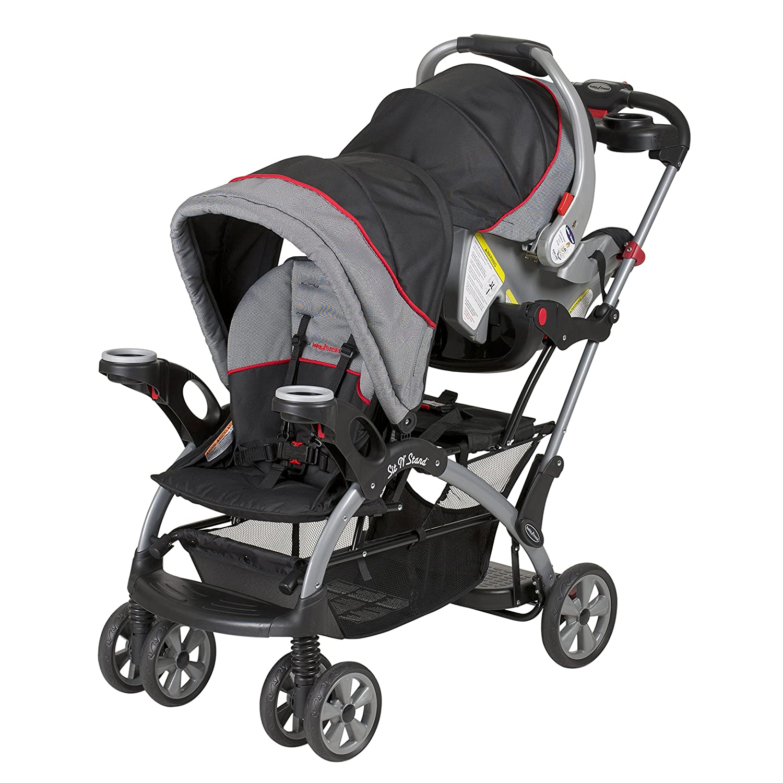 Amazon.com : Baby Trend Sit N Stand Ultra Stroller, Millennium : Baby