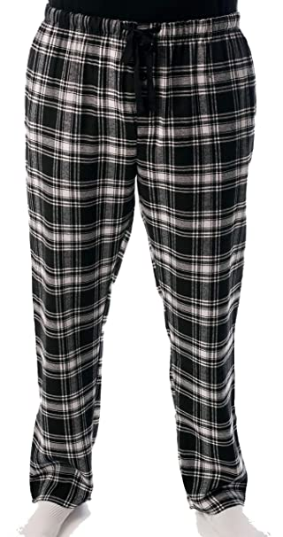 3ac32662fe followme Men s Flannel Pajamas - Plaid Pajama Pants for Men - Lounge ...
