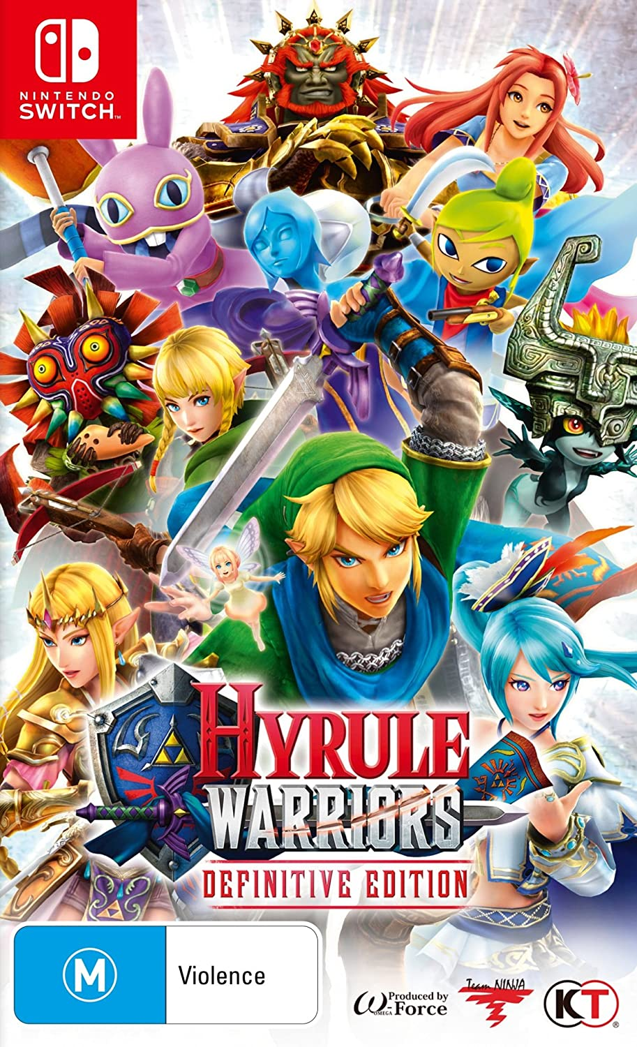 Amazon Com Hyrule Warriors Definitive Edition Nintendo Switch Video Games