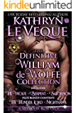 The Definitive William de Wolfe Collection: Selected de Wolfe Pack Novels (English Edition)