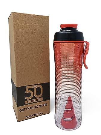 Amazon.com: Power Twister Botella mezcladora de proteínas ...
