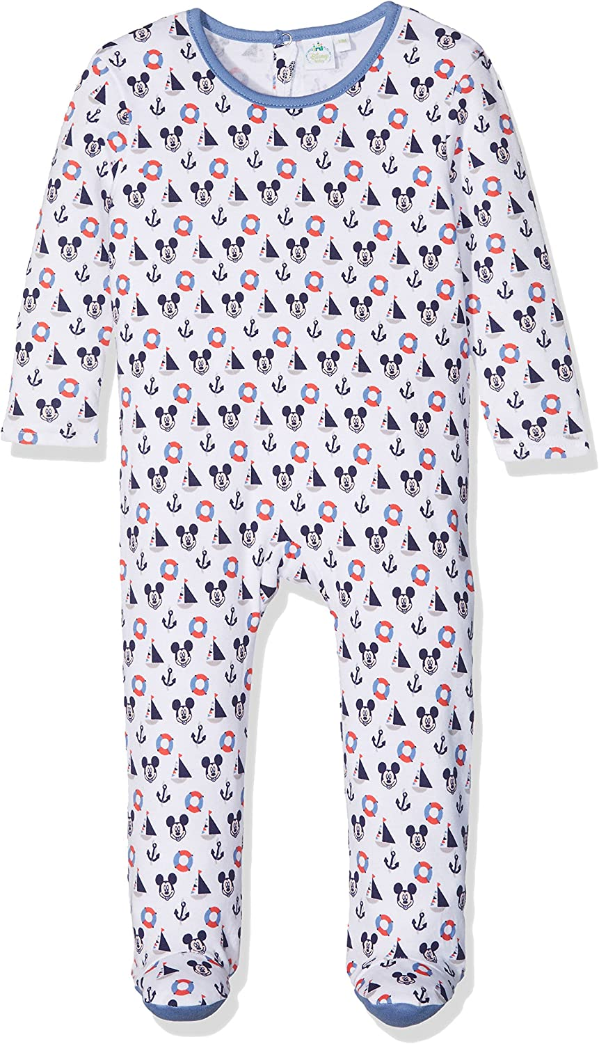 Disney Baby Mickey Mouse Pagliaccetto a Maniche Lunghe