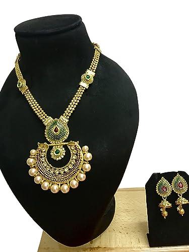 Amazoncom Crown Jewel Indian Bollywood Bridal Wedding Fashion