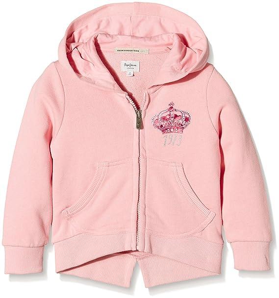 Pepe Jeans Stella, Sudadera Niñas, Rosa (Pink 325), 6 Años (