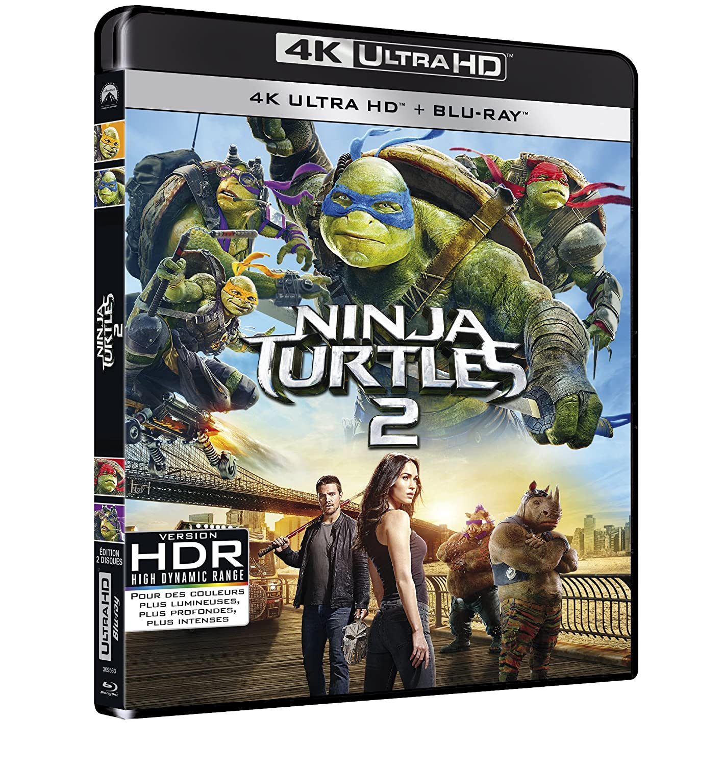 Ninja Turtles 2 [Francia] [Blu-ray]: Amazon.es: Megan Fox ...
