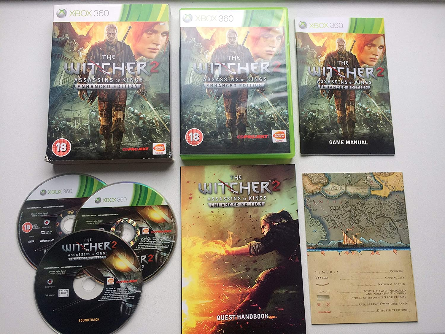 The Witcher 2 Assassins Of Kings Enhanced Edition Xbox 360 Amazon Co Uk Pc Video Games