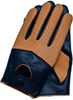 Riparo Motorsports Men's Leather Driving Gloves