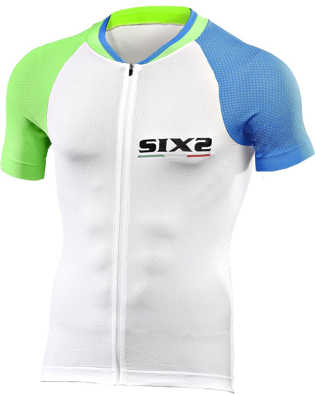 SIXS - BIKE3 Ultralight - Kurzarm Shirt Langer Reißverschluss - -