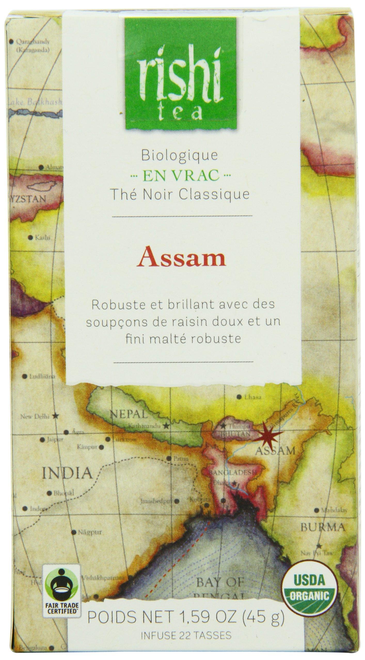 Rishi Tea Black Tea, Assam, 45 Gram