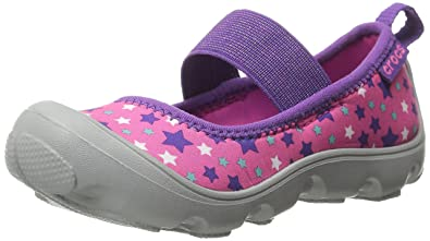 b2f72d439eac crocs Duet Busy Day Galactic PS Mary Jane (Toddler Little Kid)