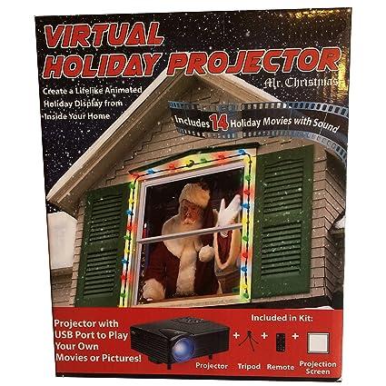 Mr Christmas Projector.Amazon Com Mr Christmas Virtual Holiday Projector Color