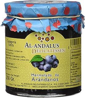 Al-Andalus Delicatessen Mermelada de Arándanos 250 gr.