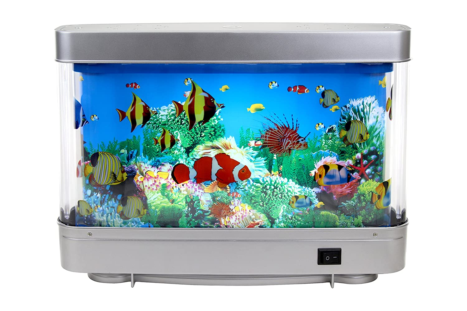 Fish Aquarium Rates In Delhi - Lightahead artificial tropical fish aquarium decorative lamp
