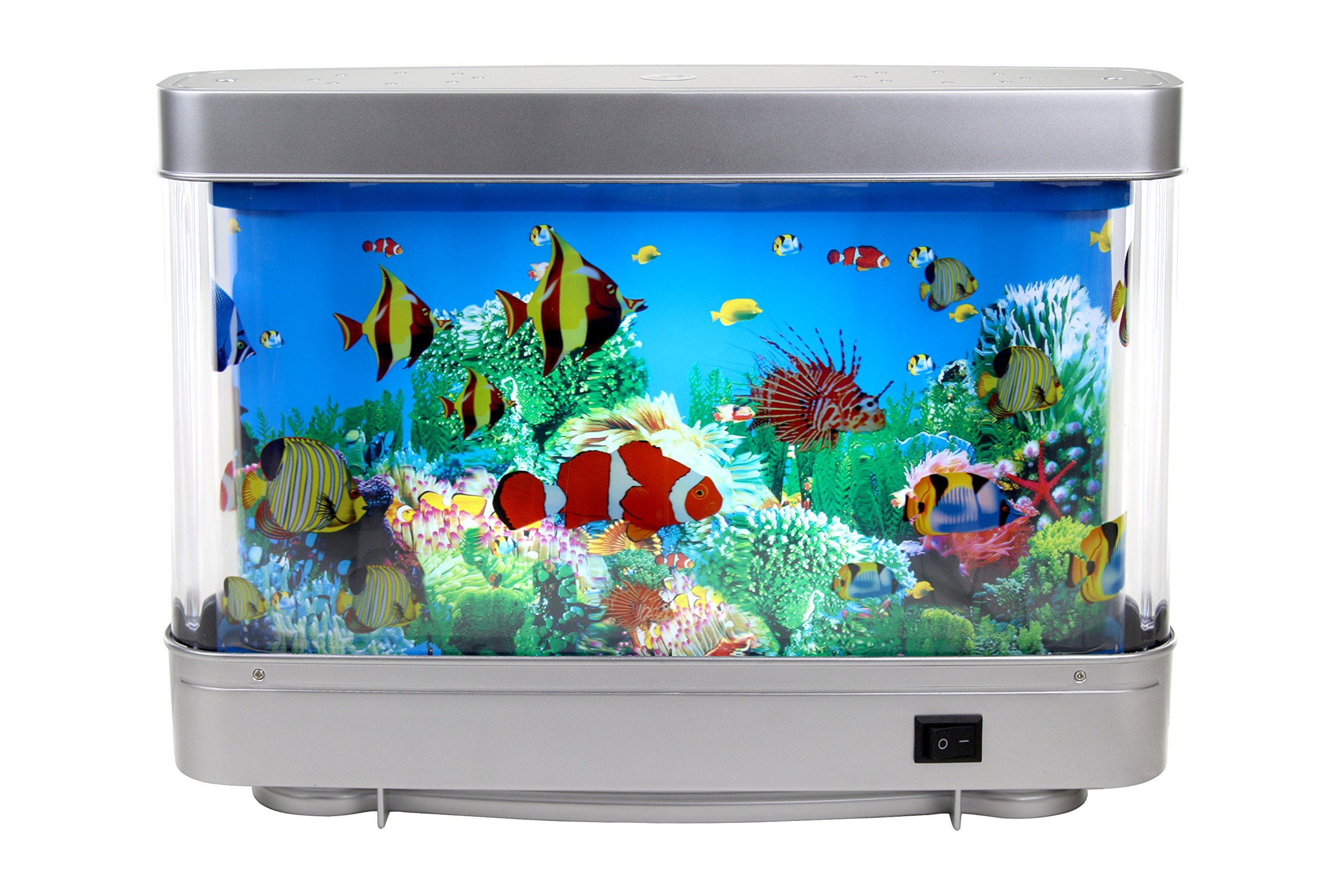 Lightahead Artificial Tropical Fish Aquarium Decorative Lamp Virtual Ocean in Motion (Marine Life A) by Lightahead