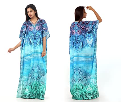 2e063be58a Image Unavailable. Image not available for. Color: Beach Kaftan Dress ...