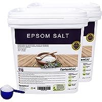 Nortembio Sale di Epsom, Fonte Concentrata di Magnesio, Sale Naturale al 100%. Bagno e Cura Personale.