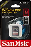 Sandisk Extreme Pro - Flash Memory Card - 32 GB - SDHC UHS-II - Black