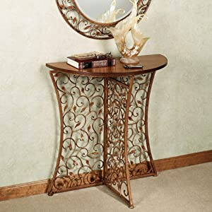 Touch of Class Annissa Vining Console Table Bronze