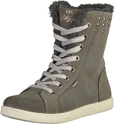 en stock gran descuento nuevos productos para Primigi Gore-TEX 65780 Girls Gray Leather Sneakers, 32 EU: Amazon ...