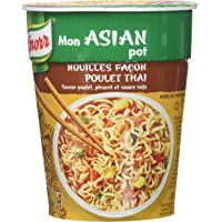 Knorr Mon Asian Pot Nouilles Poulet Thaï 65 g - Lot de 4