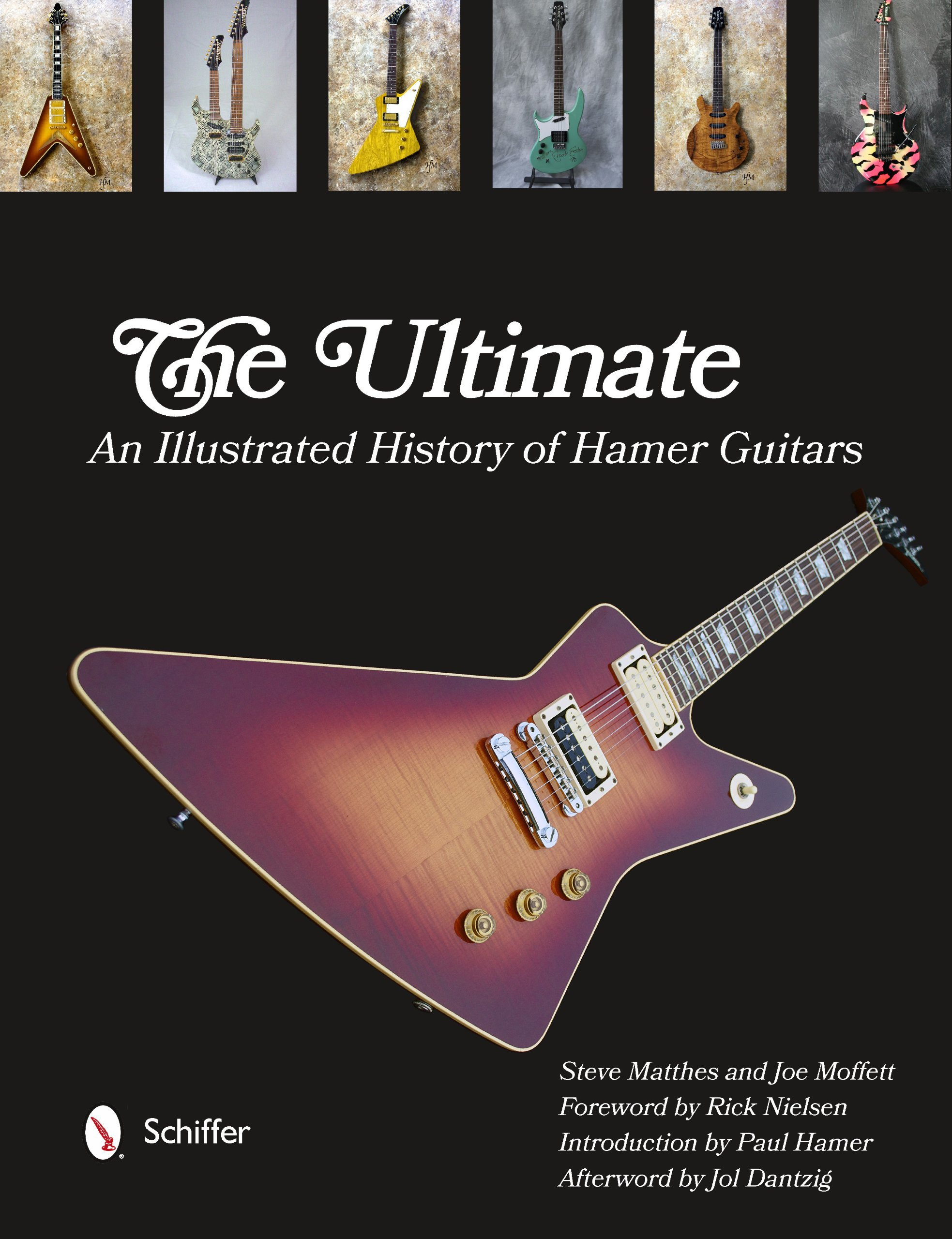 the ultimate hamer guitars an illustrated history steve matthes