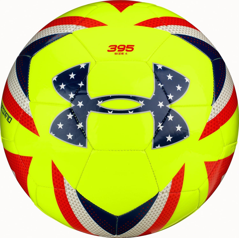 Under Armour Desafio 395 balón de fútbol, Hi-Viz Amarillo, tamaño ...