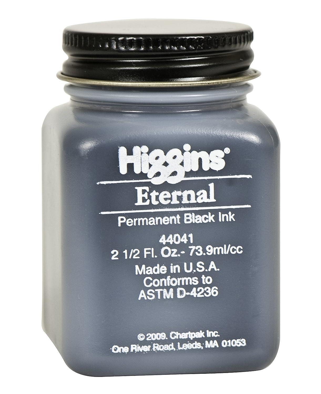 Higgins 2 oz Non-Waterproof Eternal Ink, Black 44041
