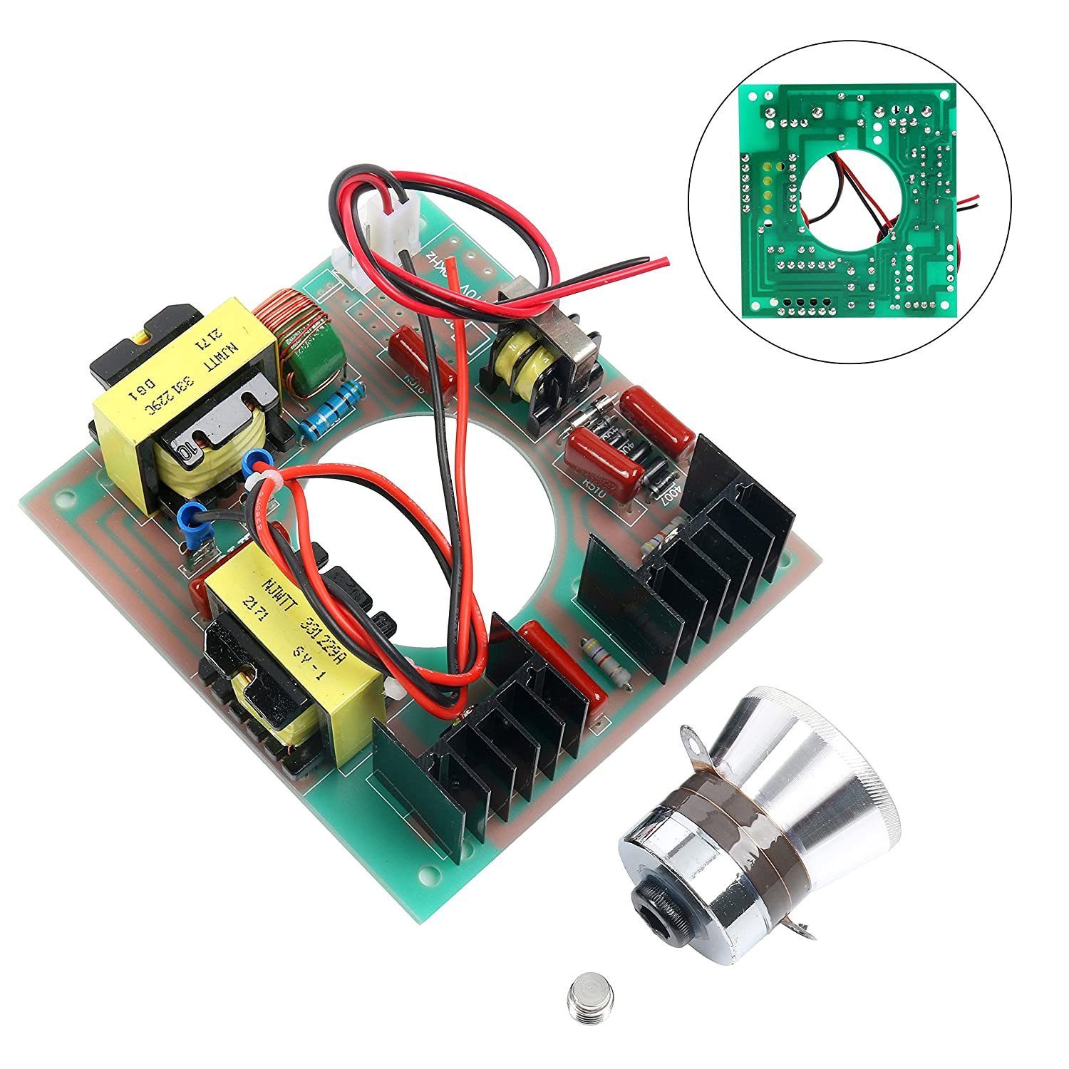 60w 40khz Ultrasonic Cleaning Transducer Cleaner Power Driver Circuit Medium Ultrasound Circuits Board 110v Ac Industrial Scientific