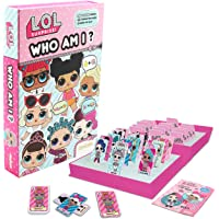 L.O.L. Surprise ! Who Am I Party Game for Girls Guess Who Games Confetti Pop Lil Sisters LOL Dolls