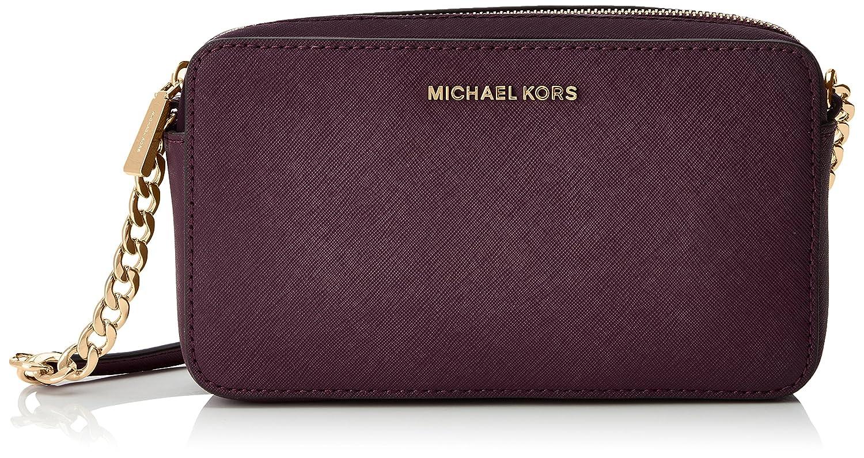 12325a1ccc4a ... new zealand michael michael kors womens jet set cross body bag bright  red one size handbags