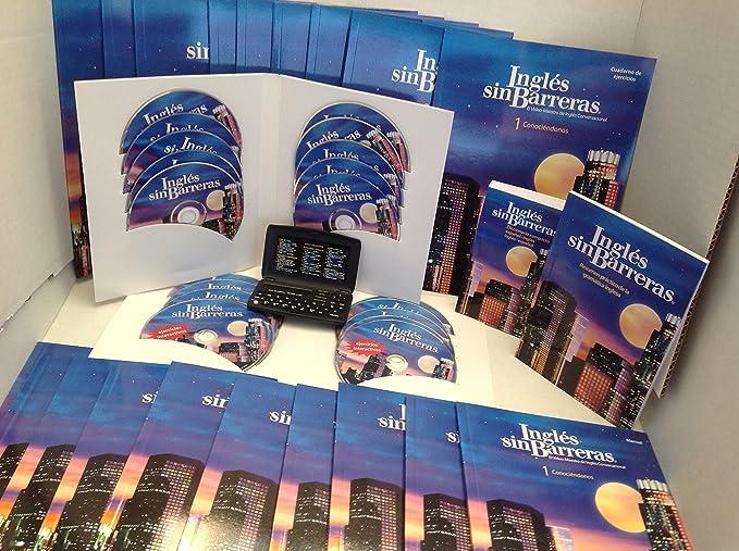 INGLES SIN BARRERA 10DVD Ejercicio Interactivo 10CD Audio 10Manuales de Instruccion 10 Cuadernos de Ejercicios 1