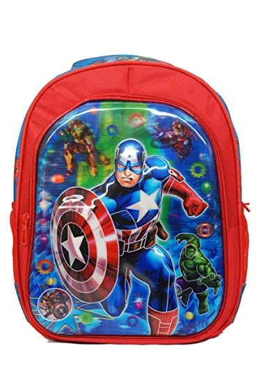 Marvel Avengers School Bag For Boys 16 inch 2d4c4bf4c7515