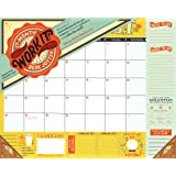 Work It! 17-Month Desk Jotter 2016