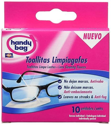 Handy Bag Toallitas Limpiagafas Envase Individual - 10 Unidades