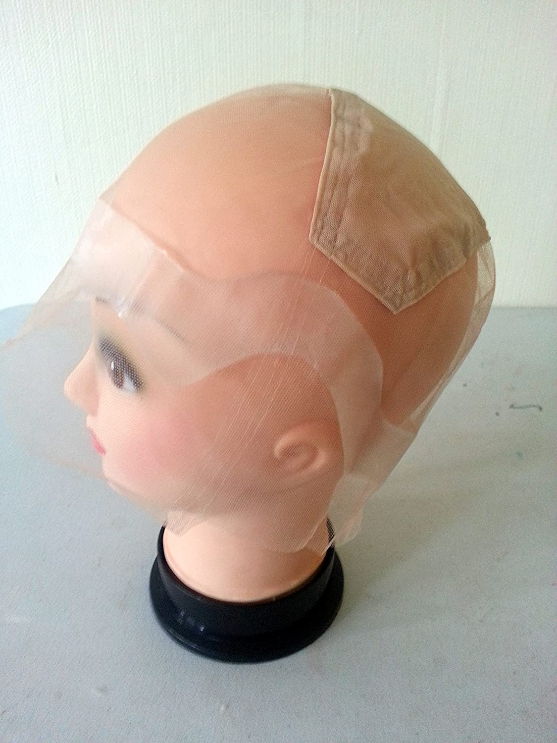 1 Hair Loss Wig Cap. Thin Skin Perimeter Wig Cap. Ventilating Wig Base with thin skin round the edges