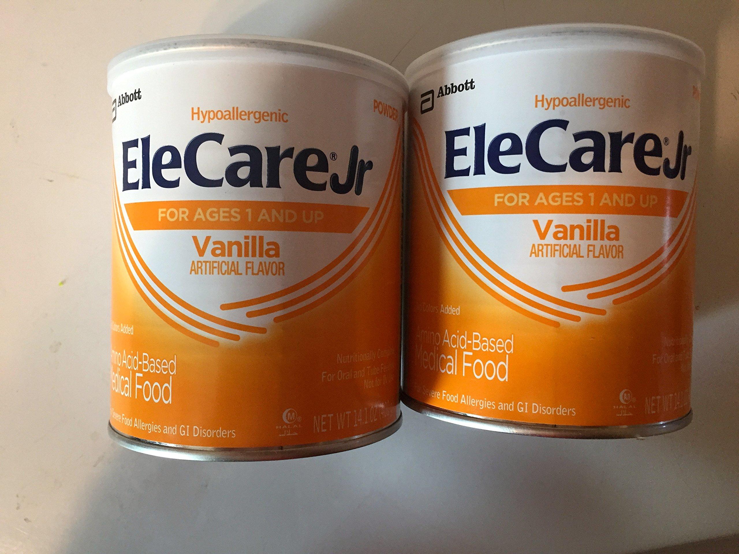 Elecare Jr. Vanilla Powder 2 - 14.1oz Cans