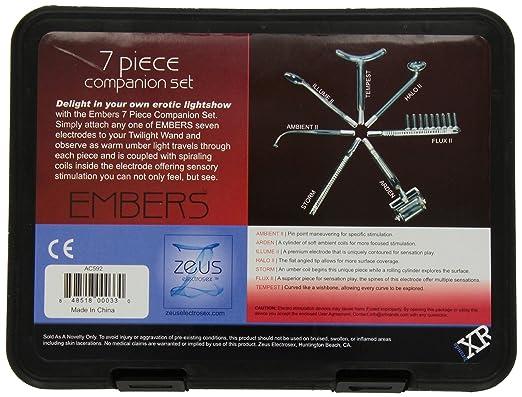 ゼウス エンバー7ピース バイオレットワンドコンパニオンセットの外箱