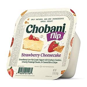 Chobani Flip Low-Fat Greek Yogurt Strawberry Cheesecake 5.3oz