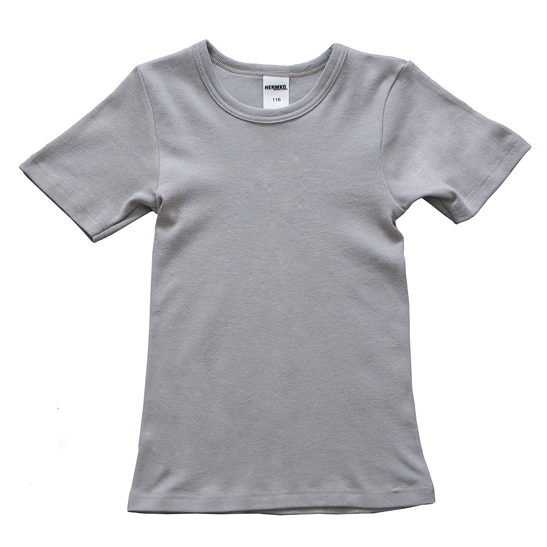 ab647d5d92 ... HERMKO 2810 Kinder halbarm Shirt aus 100% Bio-Baumwolle, kurzarm  Unterhemd für Mädchen