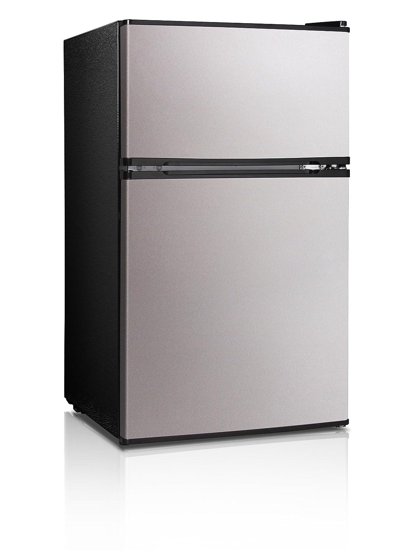 Midea WHD-113FSS1 compact refrigerator