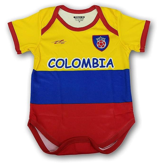 Arza Deportes Colombia fútbol bebé Traje Mono Mameluco