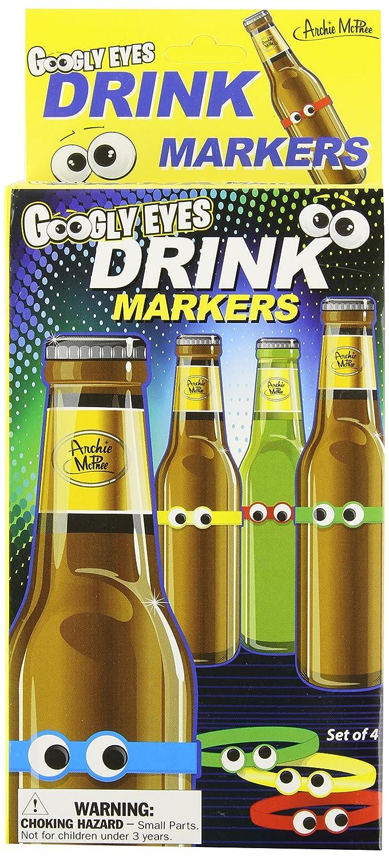 アクータメンツ 目玉ボトルマーカー 4色セット 4色セット グラスマーカー B00BFJ2V2A ステムマーカー B00BFJ2V2A, ミフネマチ:090a7518 --- fancycertifieds.xyz