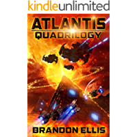 Atlantis Quadrilogy - Box Set (Books 1 - 4): Project Atlantis, Book 1 - Destination Atlantis, Book 2 - Colony Atlantis, Book 3 - Beyond Atlantis, Book 4
