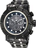 Invicta Men's 'Reserve' Quartz Stainless Steel Casual Watch, Color:Black (Model: 16951)