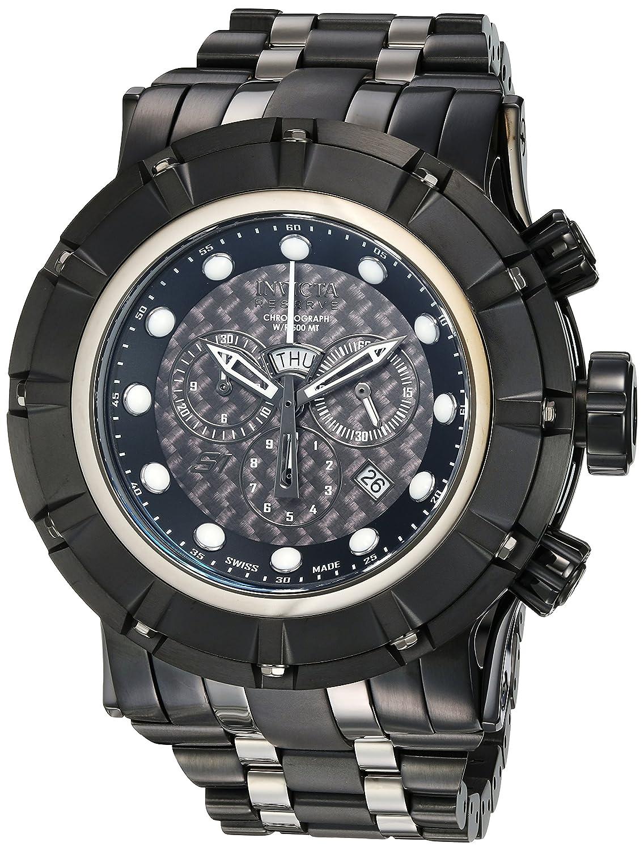 Invicta Men s Reserve Quartz Stainless Steel Casual Watch, Color Black Model 16951