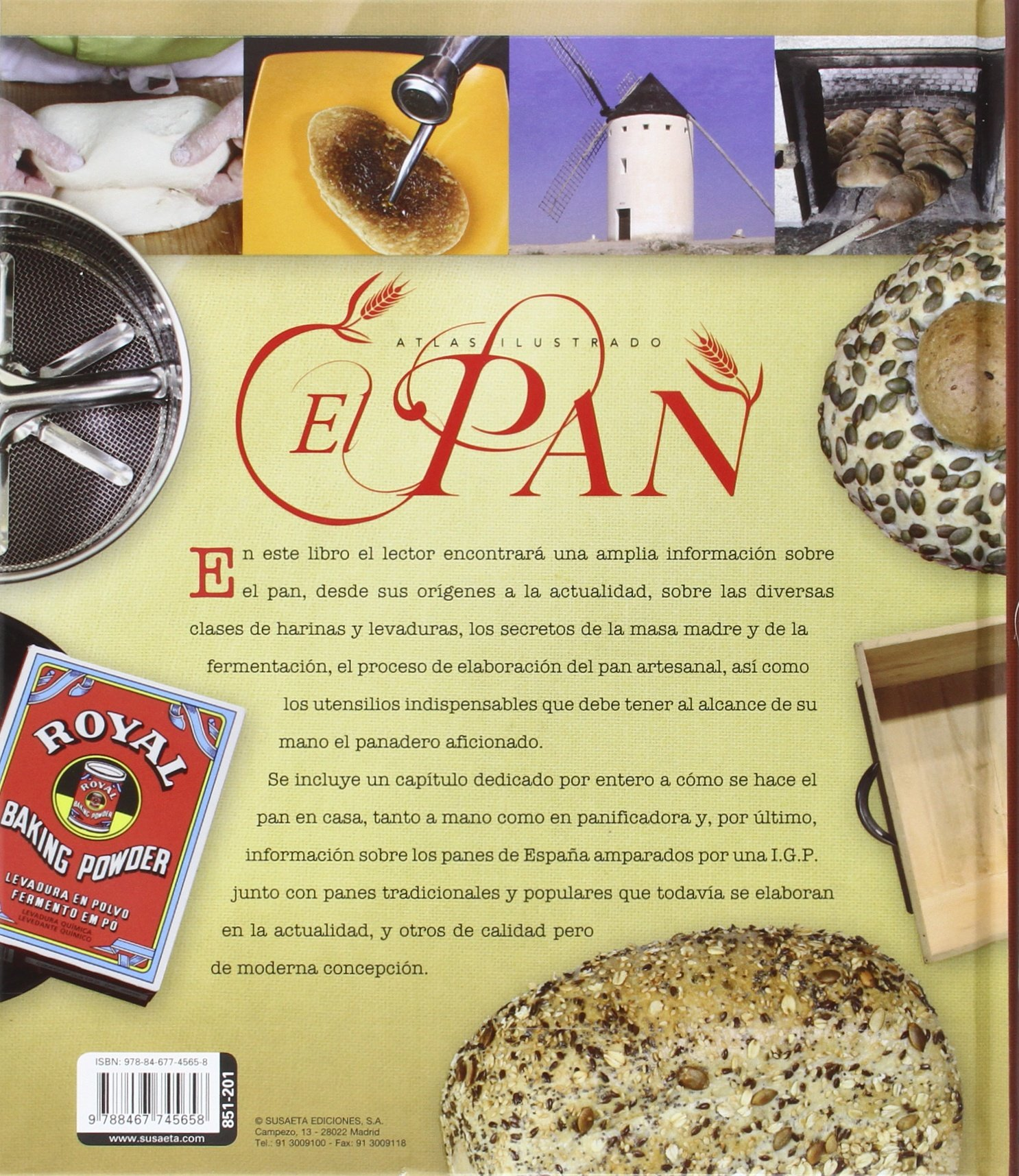 El pan: VARIOS: 9788467745658: Amazon.com: Books