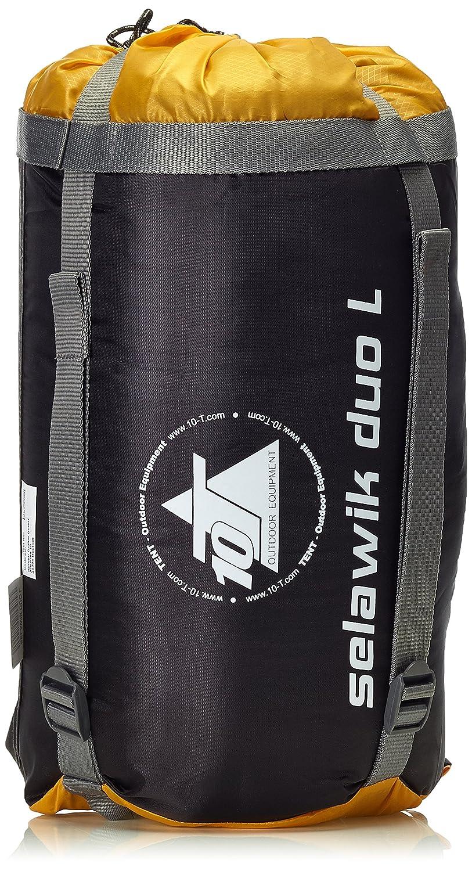 10T Outdoor Equipment 10T Selawik Duo 150L Saco de Dormir de Manta, Negro, Estándar: Amazon.es: Deportes y aire libre