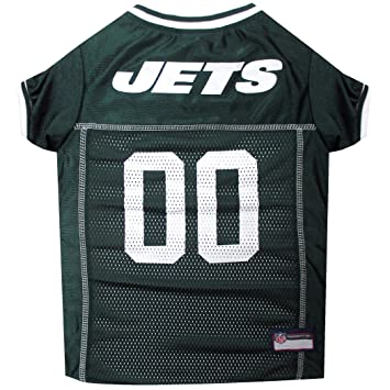 online store 85d86 6b89f NFL New York Jets Green Mesh Pet Football Jersey