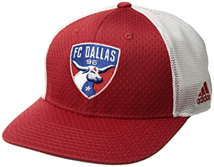 quality design 3367d 6af56 Image Unavailable. Image not available for. Color  adidas MLS Fc Dallas  Men s Meshback Structured Flex Hat ...