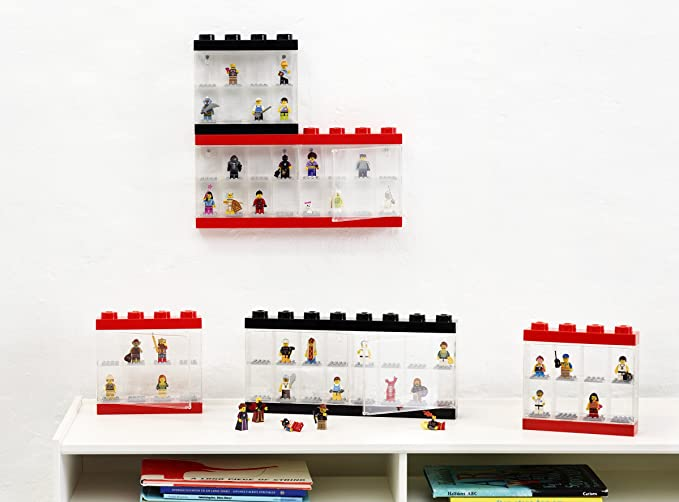 Amazon.com: Lego Minifigure Display Case 16 Black: Room Copenhagen ...